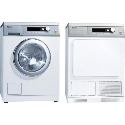 miele pw6065wh front load washer pt7135cwh electric dryer. Black Bedroom Furniture Sets. Home Design Ideas