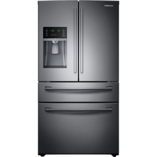 Rf28hmedbsg Samsung 36 28 Cu Ft French Door Refrigerator