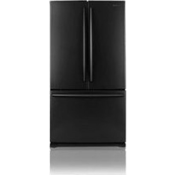 Samsung Rf266abbp 26 Cu Ft French Door Refrigerator Black Pearl