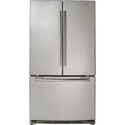 Samsung Rf266aers 26 Cu Ft French Door Refrigerator With 5