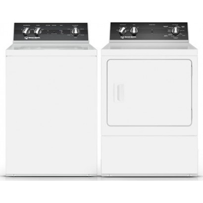 Speed Queen Tr5000wn Top Load Washer Amp Dr5000we Electric Dryer