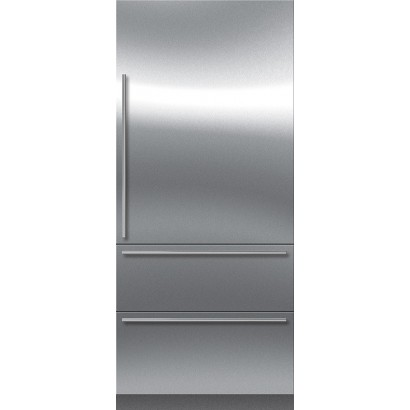 sub zero it 36ci rh 36 integrated bottom freezer refrigerator right hinge. Black Bedroom Furniture Sets. Home Design Ideas