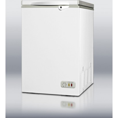 Summit CF04 3.5 cu. ft. Counter-Depth Chest Freezer with ...
