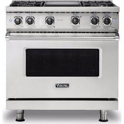 Viking Vgr5366bss Professional 5 Series Gas Range 6 Burners Stainless