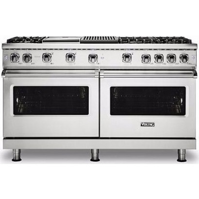 Vgr5606gqss Viking Professional 5 Series 60 Gas Range 6 Burners Griddle Grill Stainless Steel