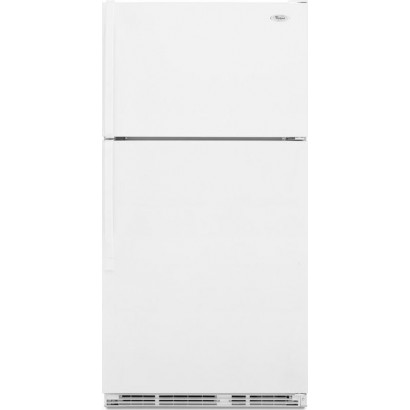 Whirlpool W1txemmwq 33 Quot Top Mount Refrigerator White