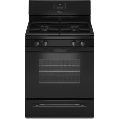 whirlpool wfg520s0ab 30 freestanding gas range with 4 sealed burners 5 0 cu ft self cleaning. Black Bedroom Furniture Sets. Home Design Ideas