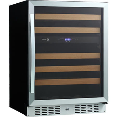 Wc46dz Fagor 24 Quot Undercounter Dual Zone Wine Cooler 46