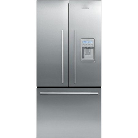 Fisher paykel rf170adux1 17 cu ft counter depth french for 17 cu ft french door refrigerator