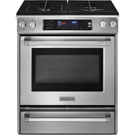 Kitchenaid Kgss907xsp 30 Quot Slide In Gas Range With 4 Sealed