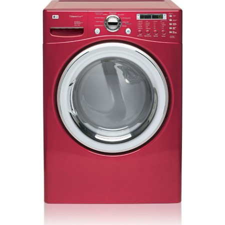 Lg Dlex7177rm 27 Xl Front Load Electric Dryer Cherry Red