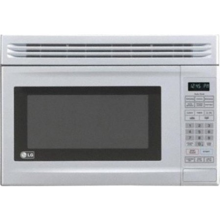 Lg Lmv1314w 1 3 Cu Ft Compact Over The Range Microwave