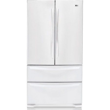 Lg Lmc25780sw 24 8 Cu Ft 4 Door French Door Refrigerator