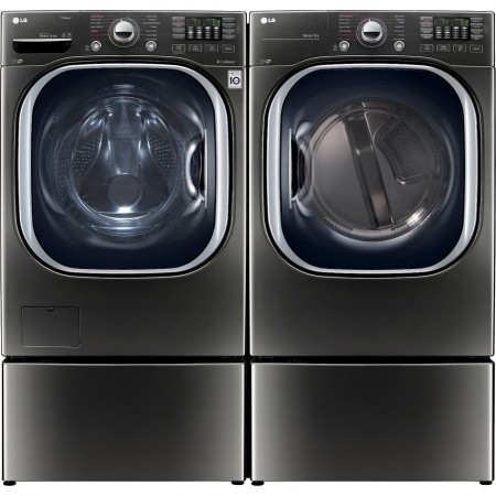 Lg Wm4370hka Front Load Washer Amp Dlex4370k Electric Dryer
