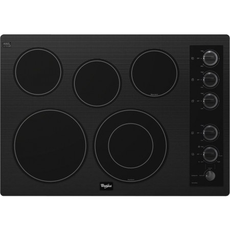 Whirlpool G7ce3055xb 30 Quot Smoothtop Electric Cooktop With 5