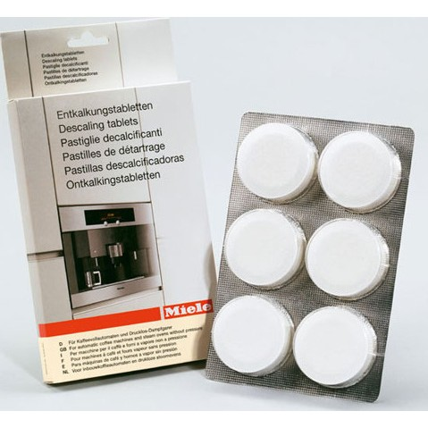 Miele Coffee Maker Descaling Instructions : Miele Descaling Tablets for Coffee, Espresso Machines