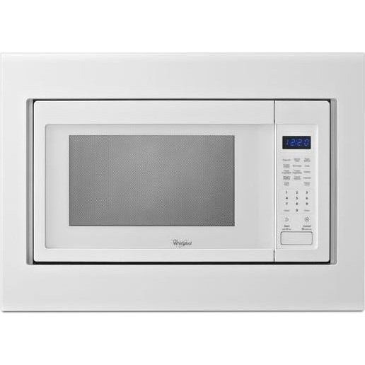 Kitchenaid mk2160aw 30 microwave trim kit white - Kitchenaid microwave with trim kit ...