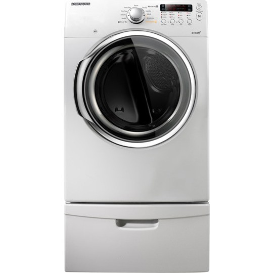 Samsung Dv331agw 27 Quot Front Load Gas Dryer With 7 3 Cu Ft