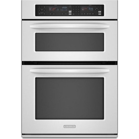 Kitchenaid kems308swh 30 microwave combination wall oven for Kitchenaid 0 finance