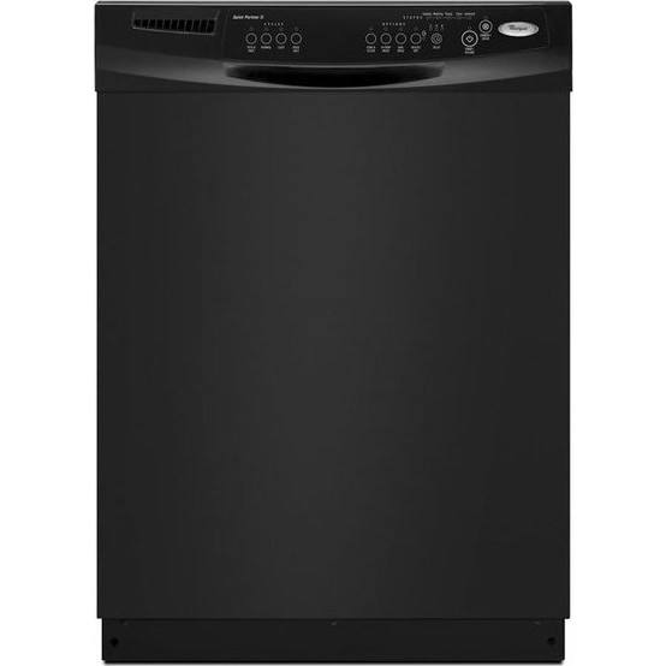 Whirlpool Du1055xtvb Full Console Dishwasher With 4 Wash