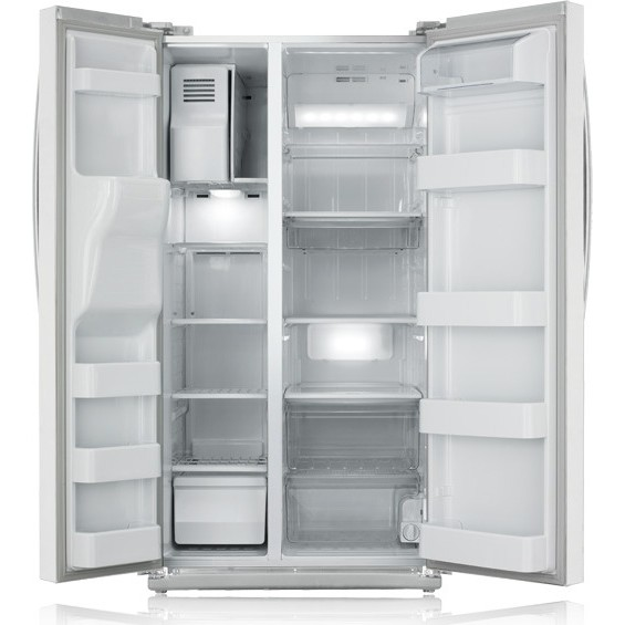 Samsung RS261MDWP 26 Cu. Ft. Side By Side Refrigerator