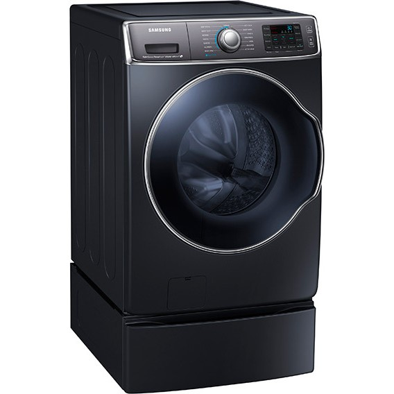 Wf56h9100ag Samsung 30 Quot 5 6 Cu Ft Front Load Washer