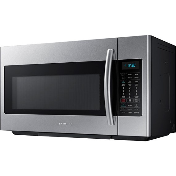 Me18h704sfs Samsung 1 8 Cu Ft Over The Range Microwave