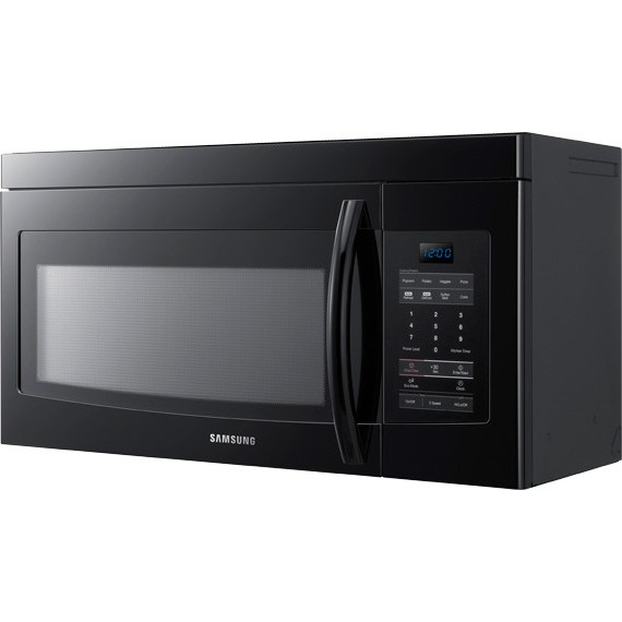 Samsung Smh1622b 1 6 Cu Ft Over The Range Microwave With