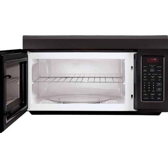 Over The Stove Exhaust Fans : Lg lmv sb cu ft over the range microwave with