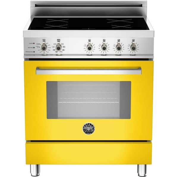 "Yellow Small Kitchen Appliances: Bertazzoni Professional Series 30"" Induction"