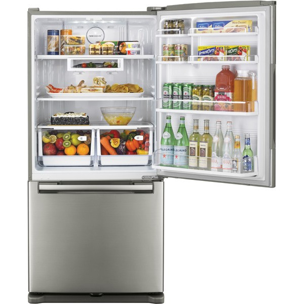 Samsung Rb195acpn 18 Cu Ft Counter Depth Bottom Freezer