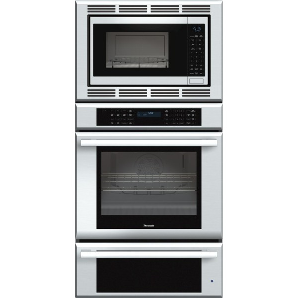 Medmcw31js thermador 30 triple combination wall oven for Kitchen 0 finance deals