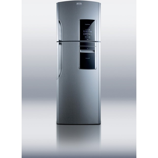 ff1525plim summit 26 14 1 counter depth top freezer refrigerator ice maker. Black Bedroom Furniture Sets. Home Design Ideas