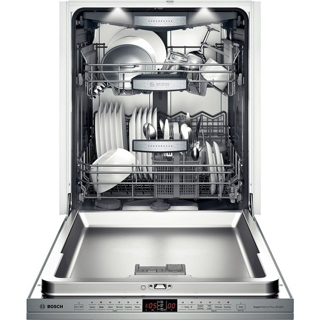 Sub Zero Appliances >> SHX9PT75UC | Bosch Benchmark Series Dishwasher, Recessed ...
