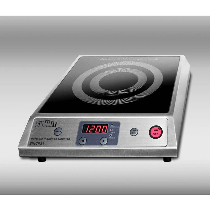 Induction Burner Element ~ Summit sincfs quot portable induction cooktop with w