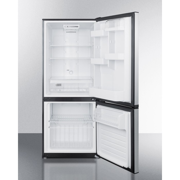 Ffbf100w Summit 24 Quot 10 2 Cu Ft Slim Depth Refrigerator