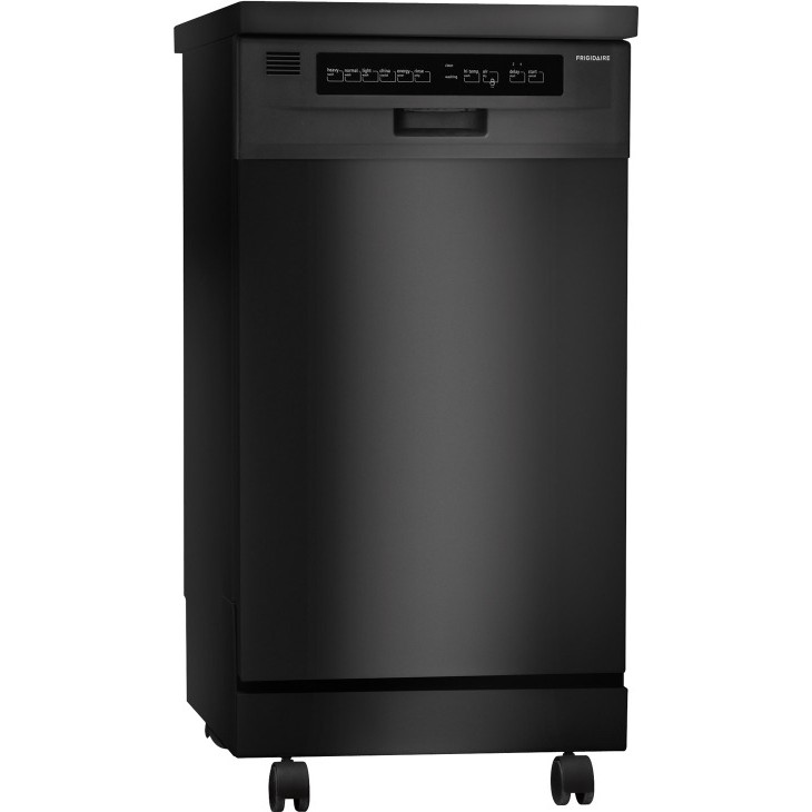 Frigidaire Ffpd1821mb 18 Portable Dishwasher With 6 Cycles China Crystal Cycle No Heat Dry