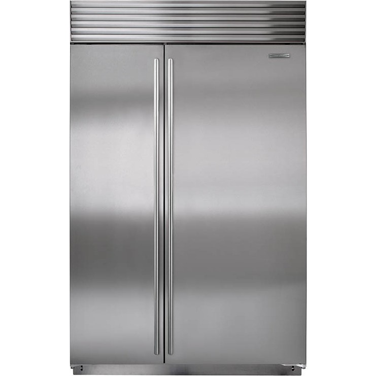 Sub Zero Bi 48s S Ph 48 Quot Built In Side By Side Refrigerator