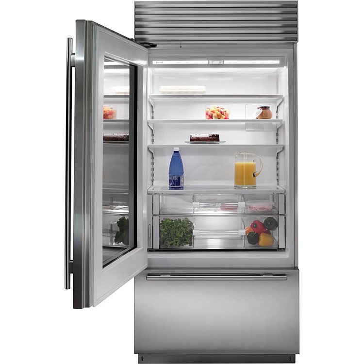Subzero Bi 36ug S Th 36 Quot Stainless Steel Built In Glass