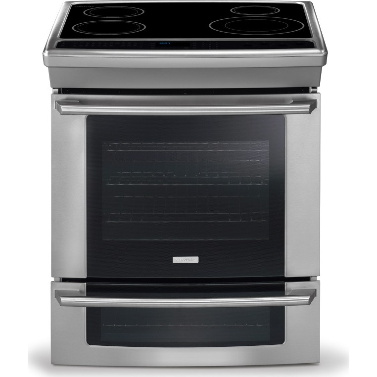 ew30is65js electrolux 30 slide in induction range wave touch controls stainless steel. Black Bedroom Furniture Sets. Home Design Ideas