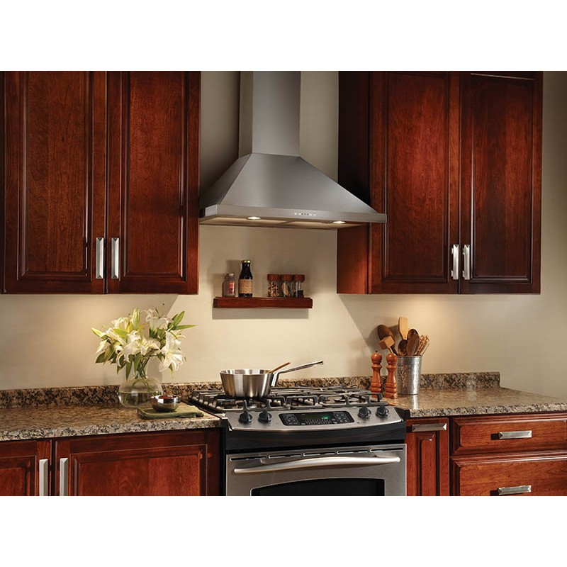 Broan Ew5830ss 30 Quot Wall Mount Chimney Range Hood With 500