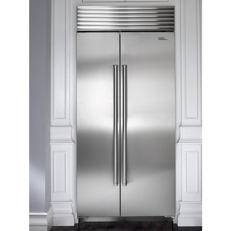 Sub Zero Bi 36s S Th 36 Quot Built In Side By Side Refrigerator