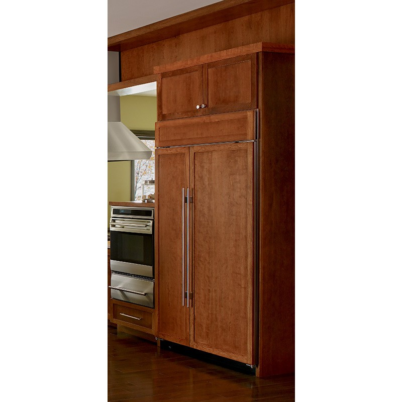 sub zero bi 48sid o 48 built in side by side refrigerator. Black Bedroom Furniture Sets. Home Design Ideas