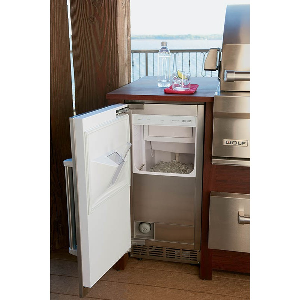Sub Zero Uc15 Io 15 Quot Built In Outdoor Ice Machine Without
