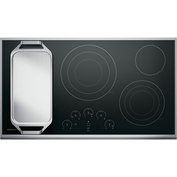 Zeu36rsjss Ge Monogram 36 Quot Touch Control Electric Cooktop