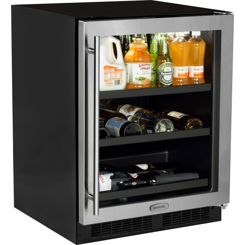 Ml24bcg1rs Marvel 24 Quot Undercounter Wine And Beverage Center