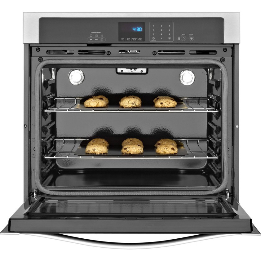 Whirlpool Wos51ec7aw 27 Single Electric Wall Oven With 4