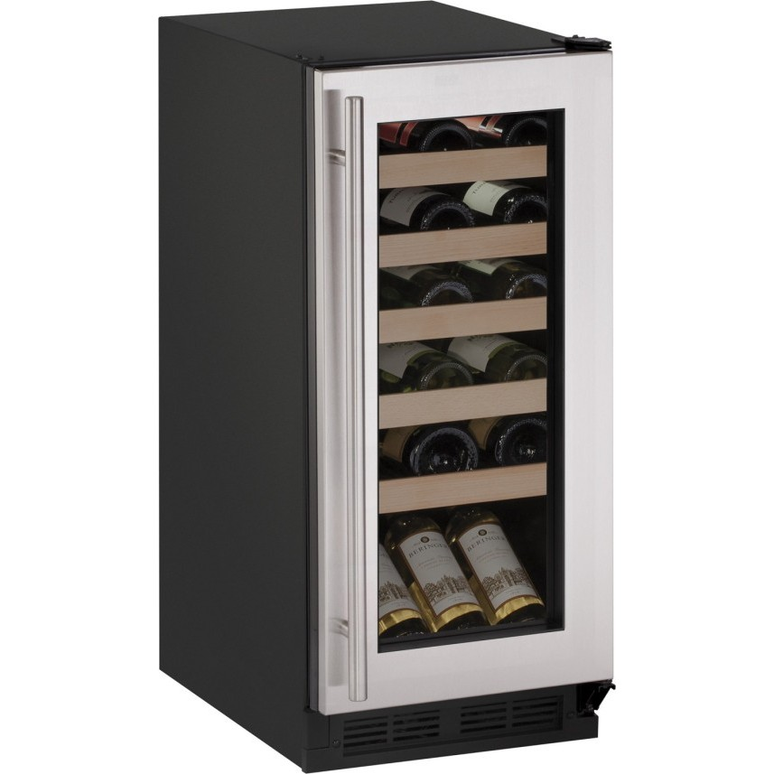 U1215wcs00a u line wine captain 15 undercounter wine for Modern homes 8 bottle wine cooler