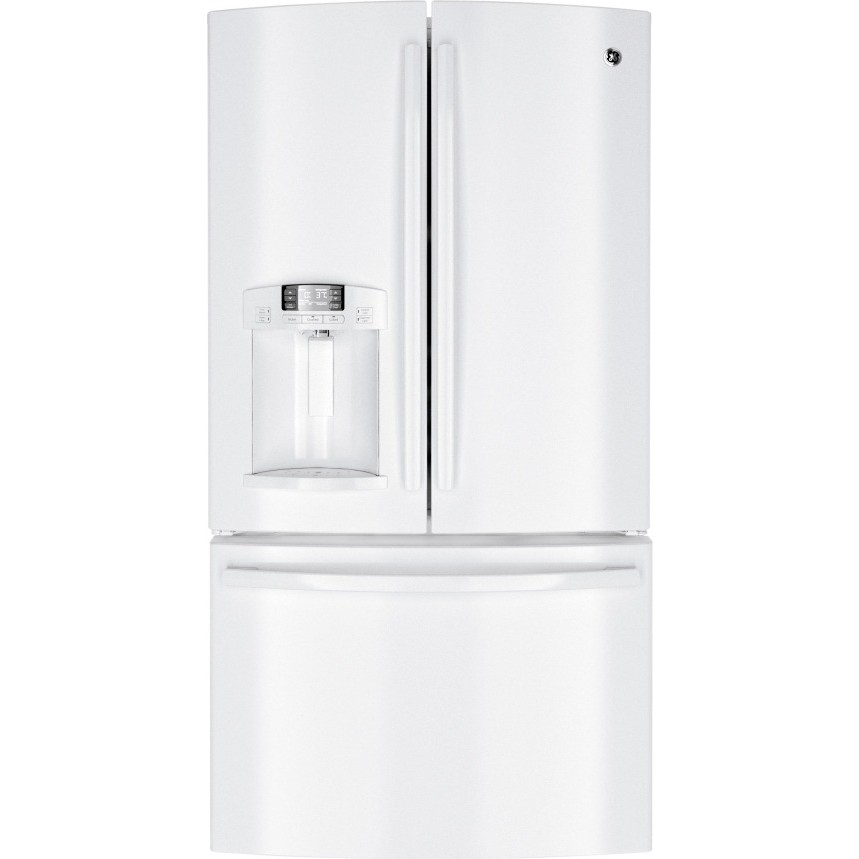 Ge Gfe29hgdww 28 6 Cu Ft French Door Refrigerator With