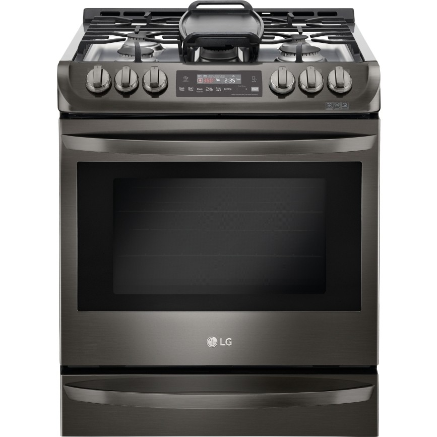 Lsg4513bd Lg 30 Quot 6 3 Cu Ft Slide In Gas Range Self Clean